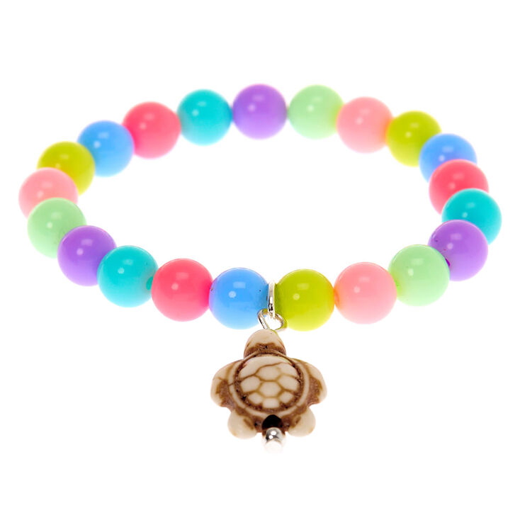 Claire's Club Pastel Cowrie Shell & Turtle Jewellery Set - 2 Pack,