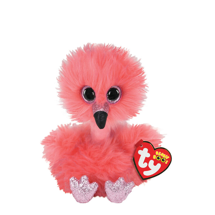 Ty Beanie Boo Small Franny the Flamingo Soft Toy,