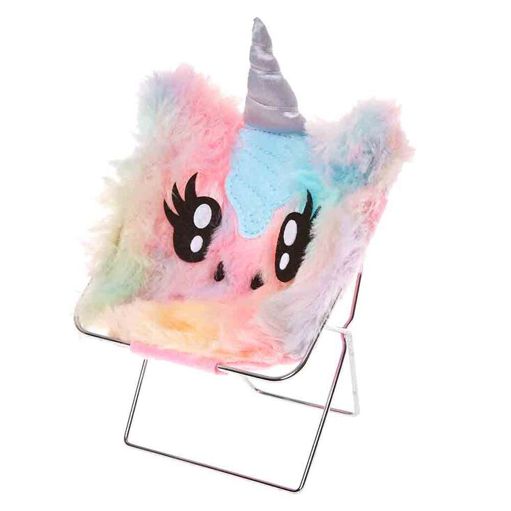 Pastel Rainbow Unicorn Phone Holder Claire S Us