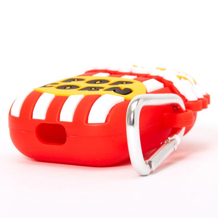 Étui pour écouteurs en silicone motif popcorn - Compatible avec les AirPods® de Apple,