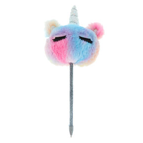 Pastel Rainbow Unicorn Plush Pen,