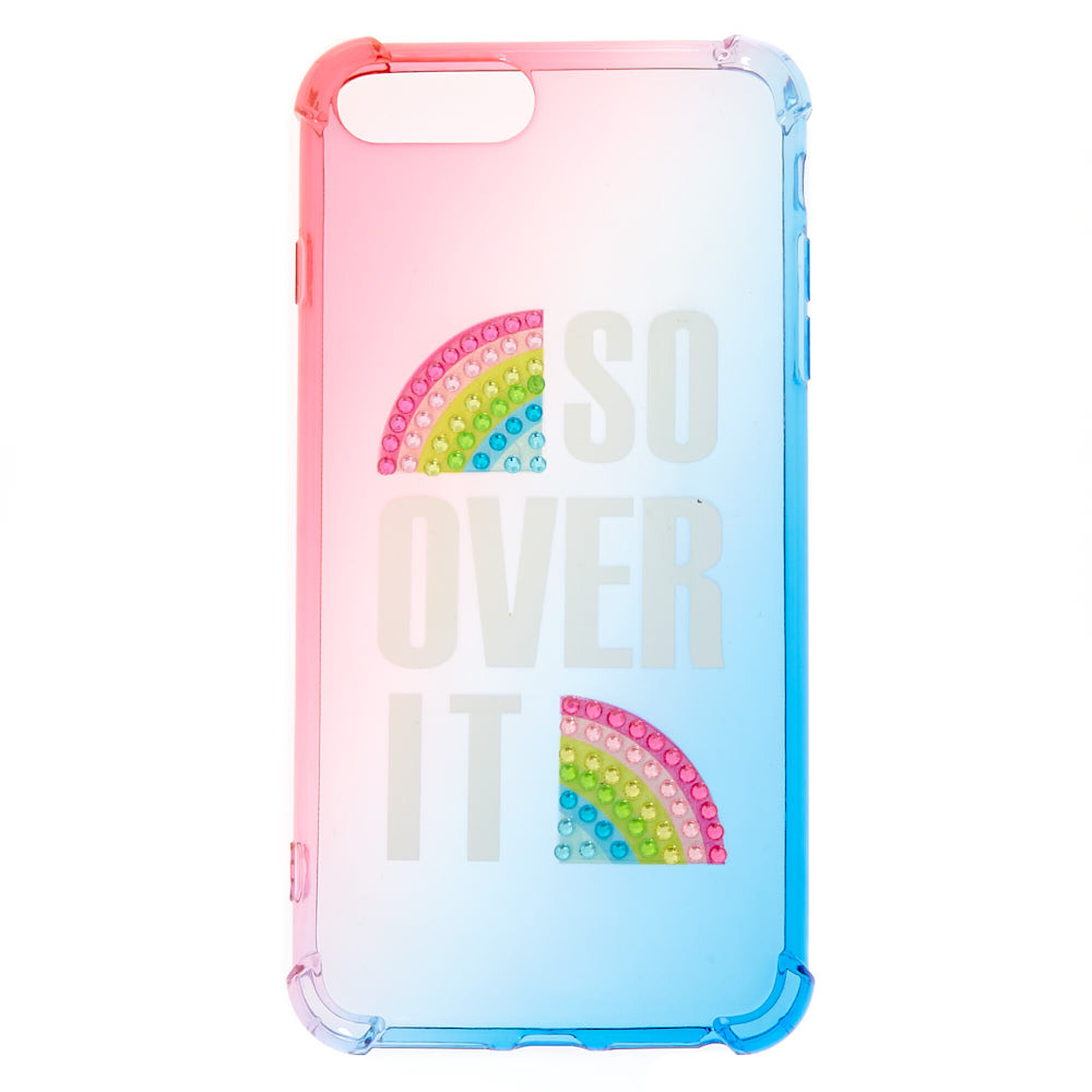 timeless design 9ddb4 705f8 So Over It Rainbow Protective Phone Case - Fits iPhone 6/7/8