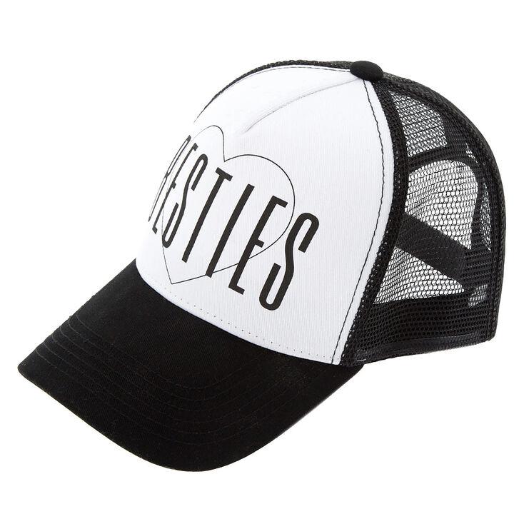 e648e00130e Black  amp  White Besties Trucker Hat