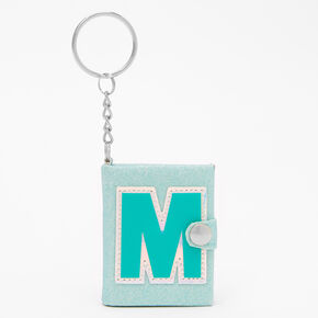 Initial Mini Journal Keychain - M,