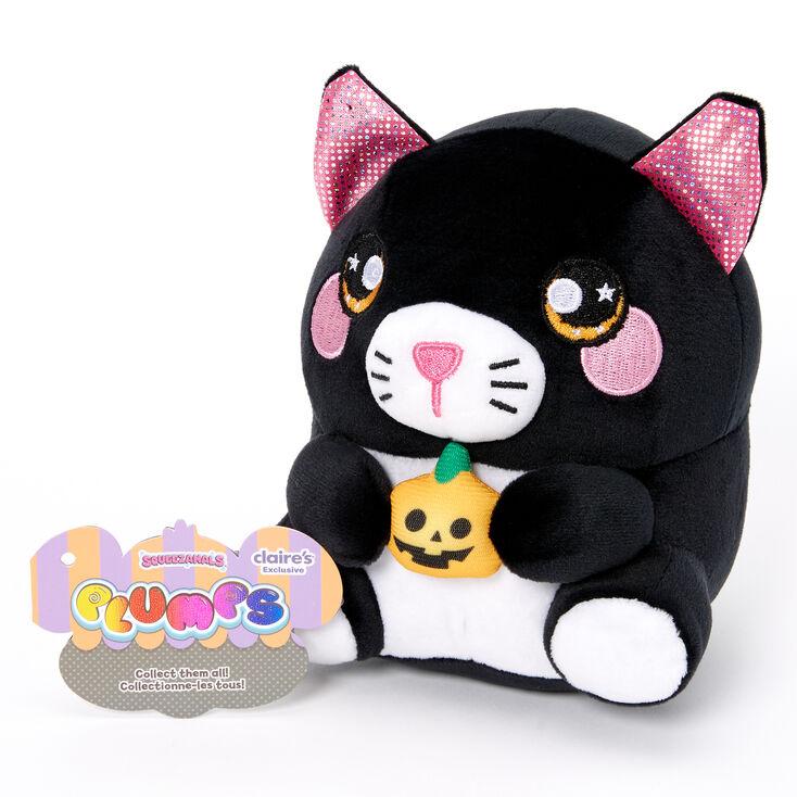 Squeezamals™ Plumps Pumpkin Cat Soft Toy,