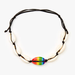 Tie Dye Cowrie Shell Anklet,