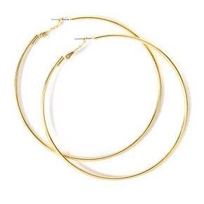Gold 80MM Hoop Earrings,