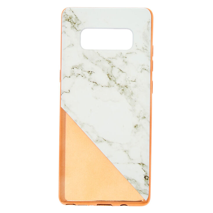 Rose Gold Marble Phone Case - Fits Samsung Galaxy Note 8,