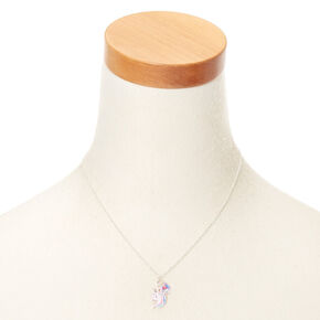 Pastel Unicorn Pendant Necklace - Pink,
