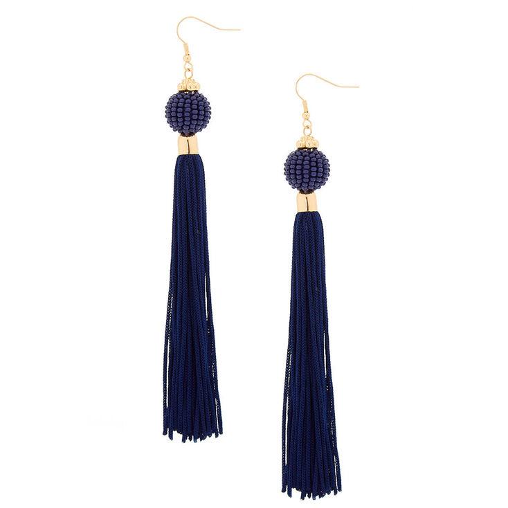 5f9a829325 5 quot  Vintage Design Tassel Drop Earrings ...