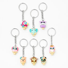 Pucker Pop Best Friends Keychains - 8 Pack,