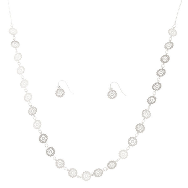 Claire's - filigree disc jewelry set - 1