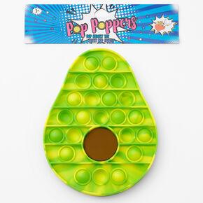 Pop Poppers Avocado Fidget Toy - Green,