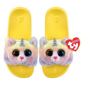 Ty® Beanie Boo Heather the Unicorn Cat Slipper Socks,
