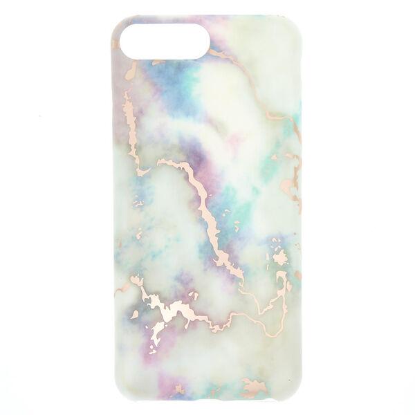 Claire's - pastelmarble phone case - 1