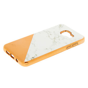 cf489a8a2b Rose Gold Marble Protective Phone Case - Fits Samsung Galaxy A5
