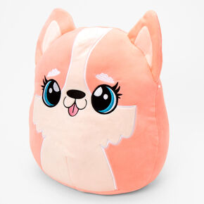 """Squishmallows™ 12"""" Puppy Dog Plush Toy - Coral,"""