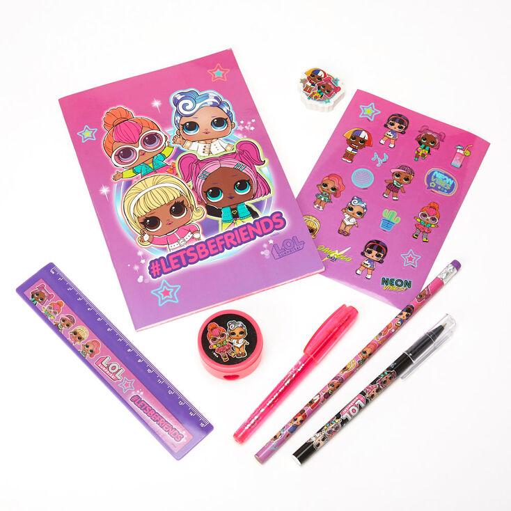 L.O.L Surprise!™ #LETSBEFRIENDS Stationery Set – 8 Pack, Pink,