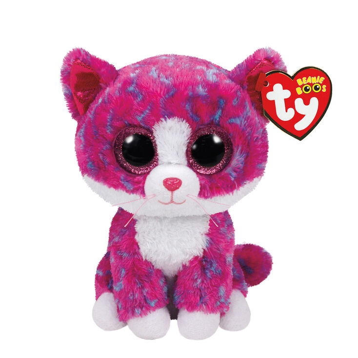 757242489a7 Ty Beanie Boo Small Charlotte The Cat Soft Toy