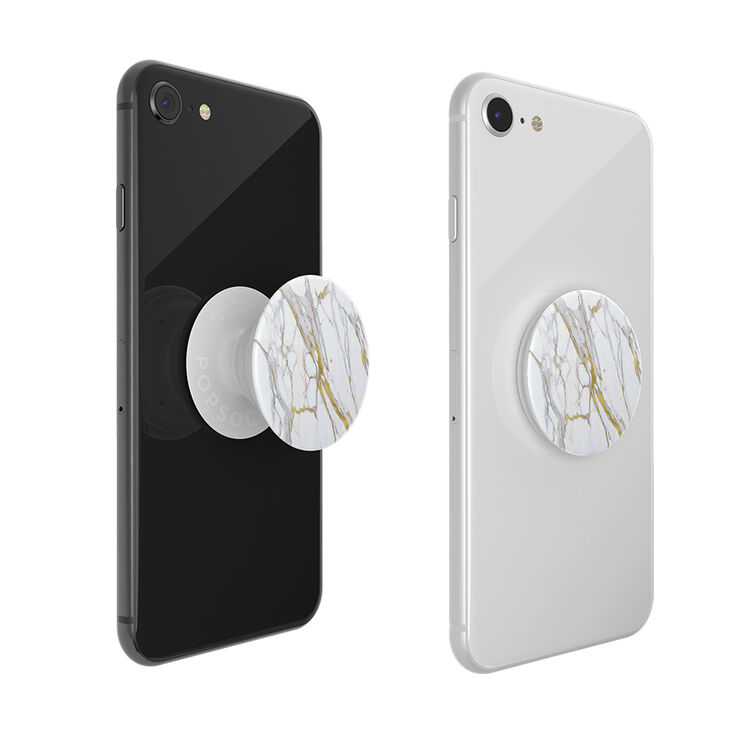 PopSockets Swappable PopGrip - Calacatta Gold,