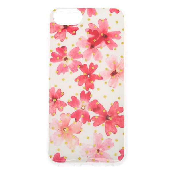 Claire's - floral phone case - 1