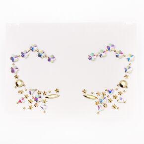 Star & Diamond Eye Gems - Gold,