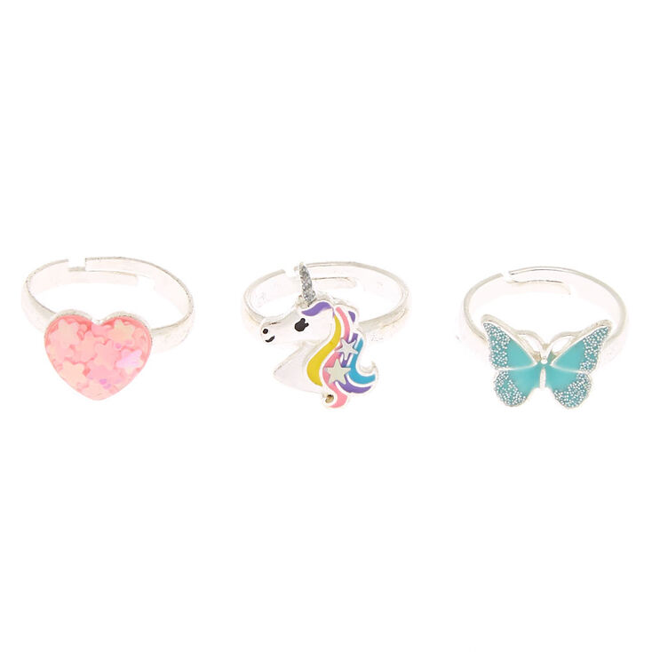 Unicorn Magic Rings - 3 Pack,