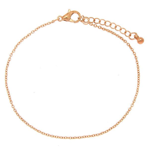 Claire's - rose chain bracelet - 2