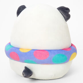 """Squishmallows™ 8"""" Claire's Exclusive Pool Party Panda Plush Toy,"""