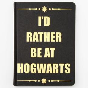 Harry Potter™ I'd Rather Be At Hogwarts Journal - Black,
