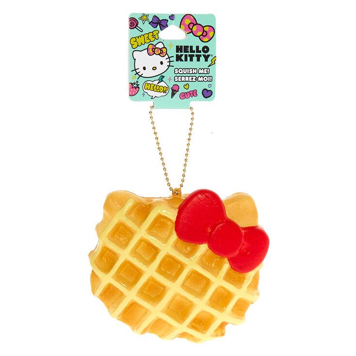 Hello Kitty® Squish Keychain: Waffle  - Orange,