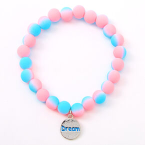 Ombre Matte Dream Beaded Stretch Bracelet,