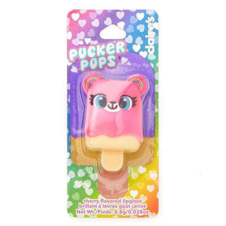Pucker Pops Izzy the Bear Lip Gloss - Cherry,