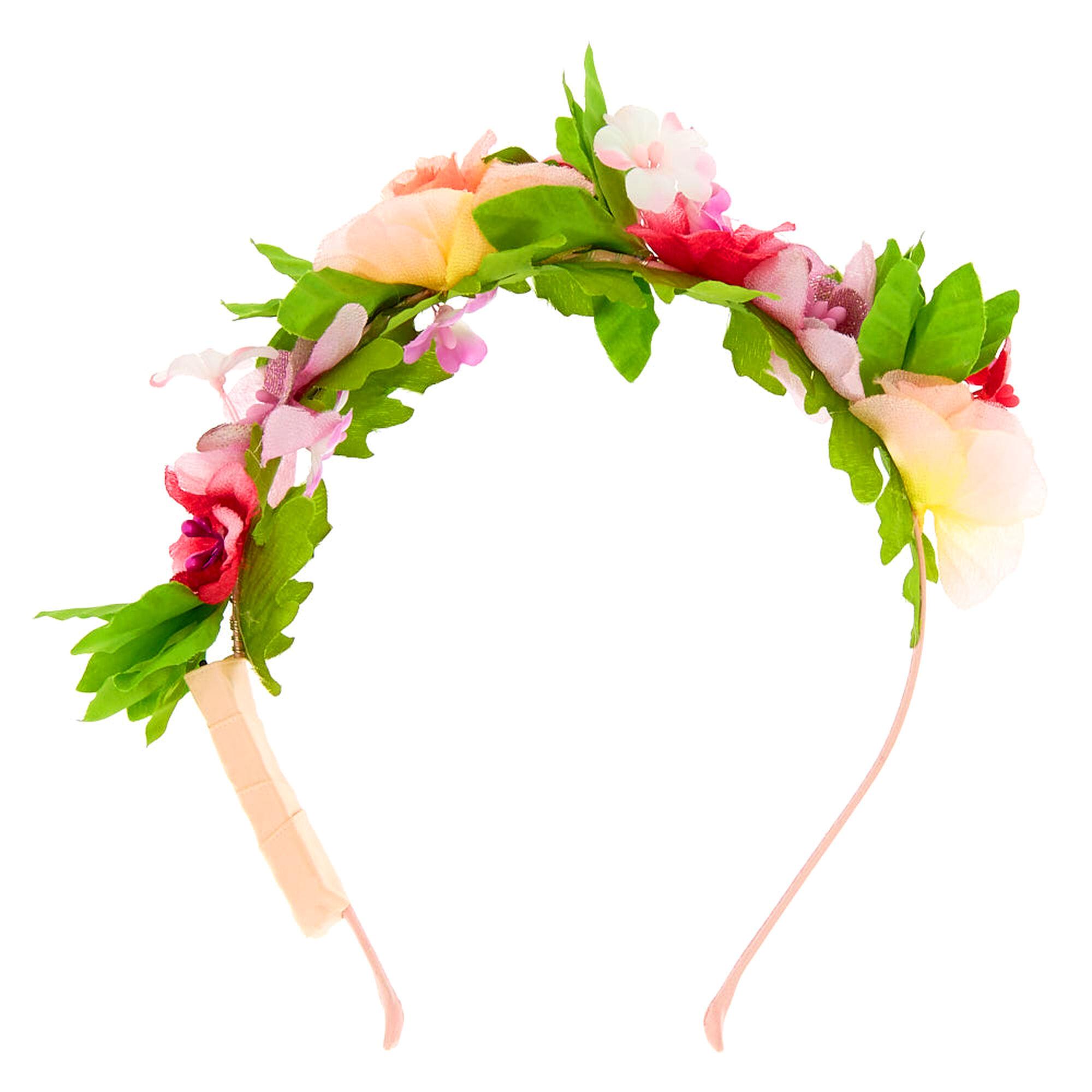 Light up summer flower crown headband claires light up summer flower crown headband izmirmasajfo