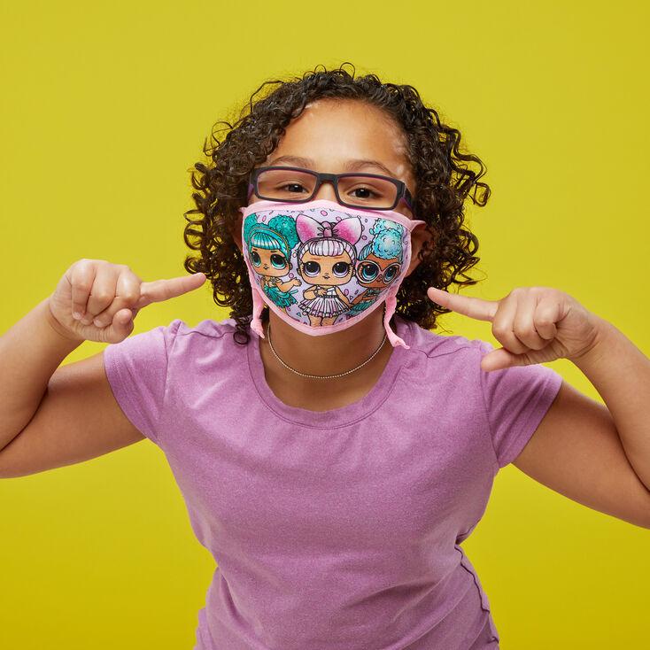 3 Pack L.O.L. Surprise!™ Print Face Mask – Adjustable,