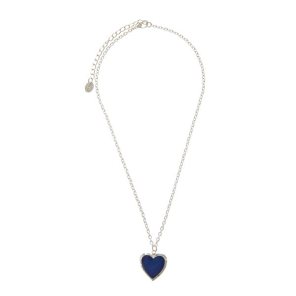 Claire's - heart-shaped mood locket necklace - 2