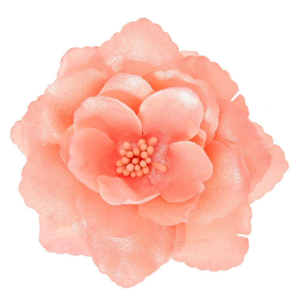 High Quality Large Light Pink Flower Hair Clip, Home Design Ideas