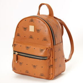 Love Angel Wings Small Backpack - Tan,