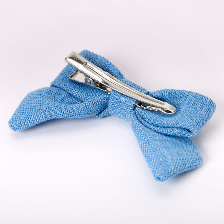 Claire's Club Bow Hair Clips - 3 Pack,