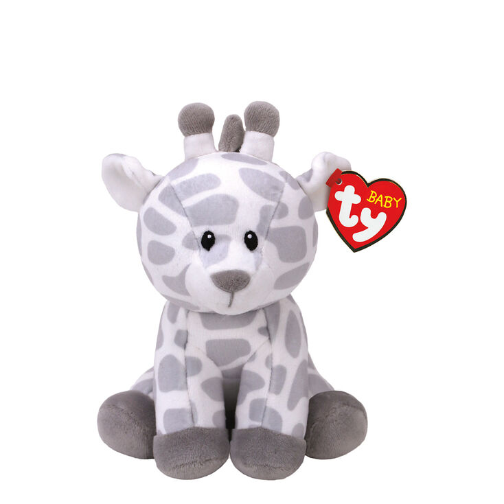 Ty Baby Small Gracie The Giraffe Plush Toy Claire S Us