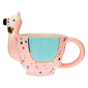 Go to Product: Pastel Ceramic Llama Mug from Claires