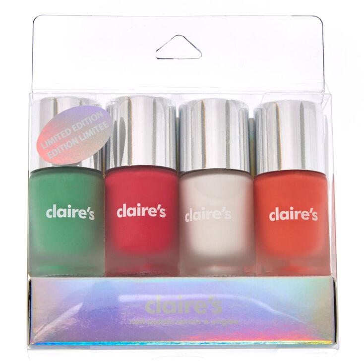 Matte Nail polish Set | Claire\'s US