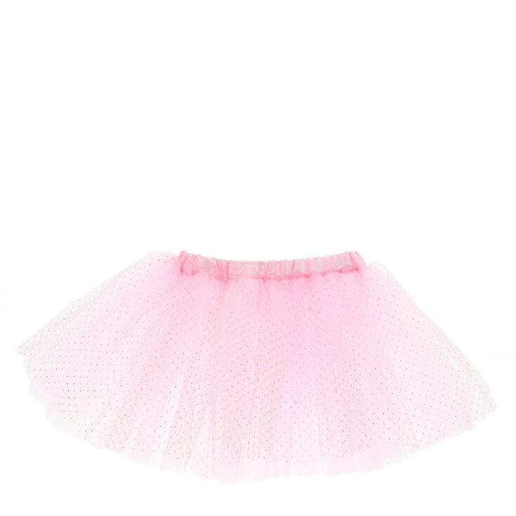 Claire's Club Glitter Tutu - Pink,