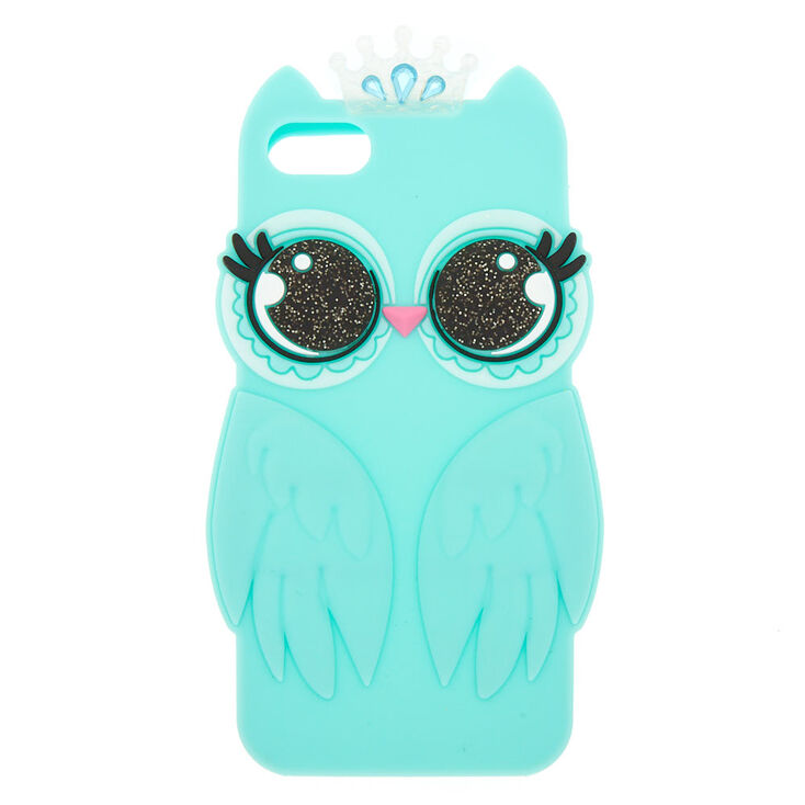 Luna the Owl Silicone Phone Case - Fits iPhone 5/5S,
