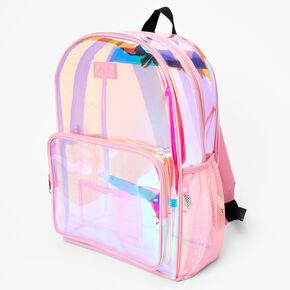 Transparent Midi Backpack - Pink,
