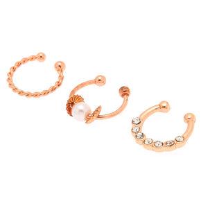 False Body Jewellery Fake Piercings Claire S