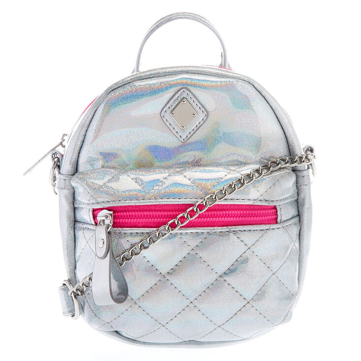 Iridescent Holographic Crossbody Bag  2980956035