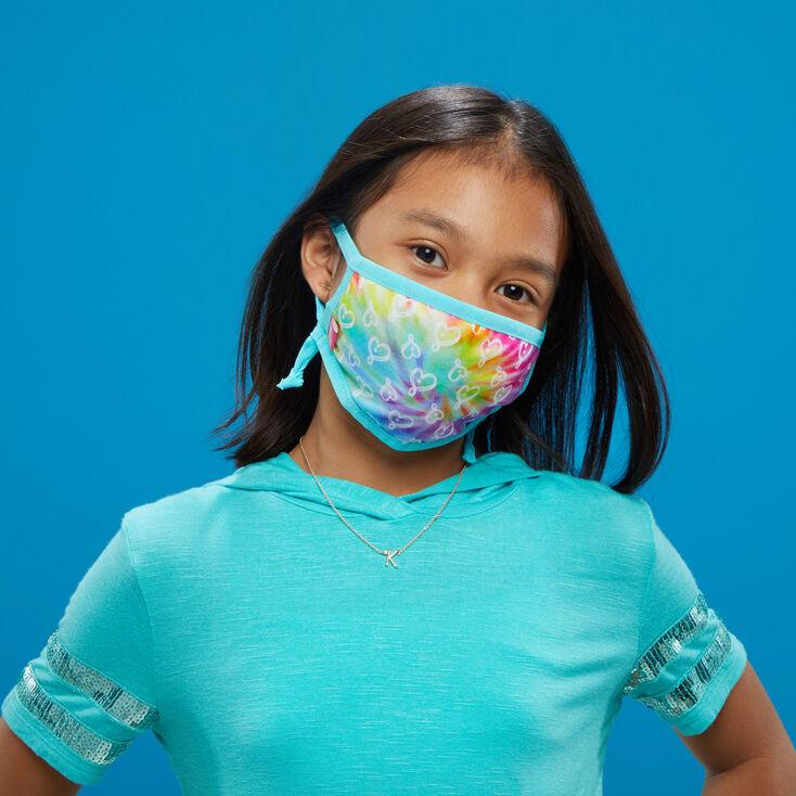JoJo Siwa™ Heart Print Face Mask – Adjustable,