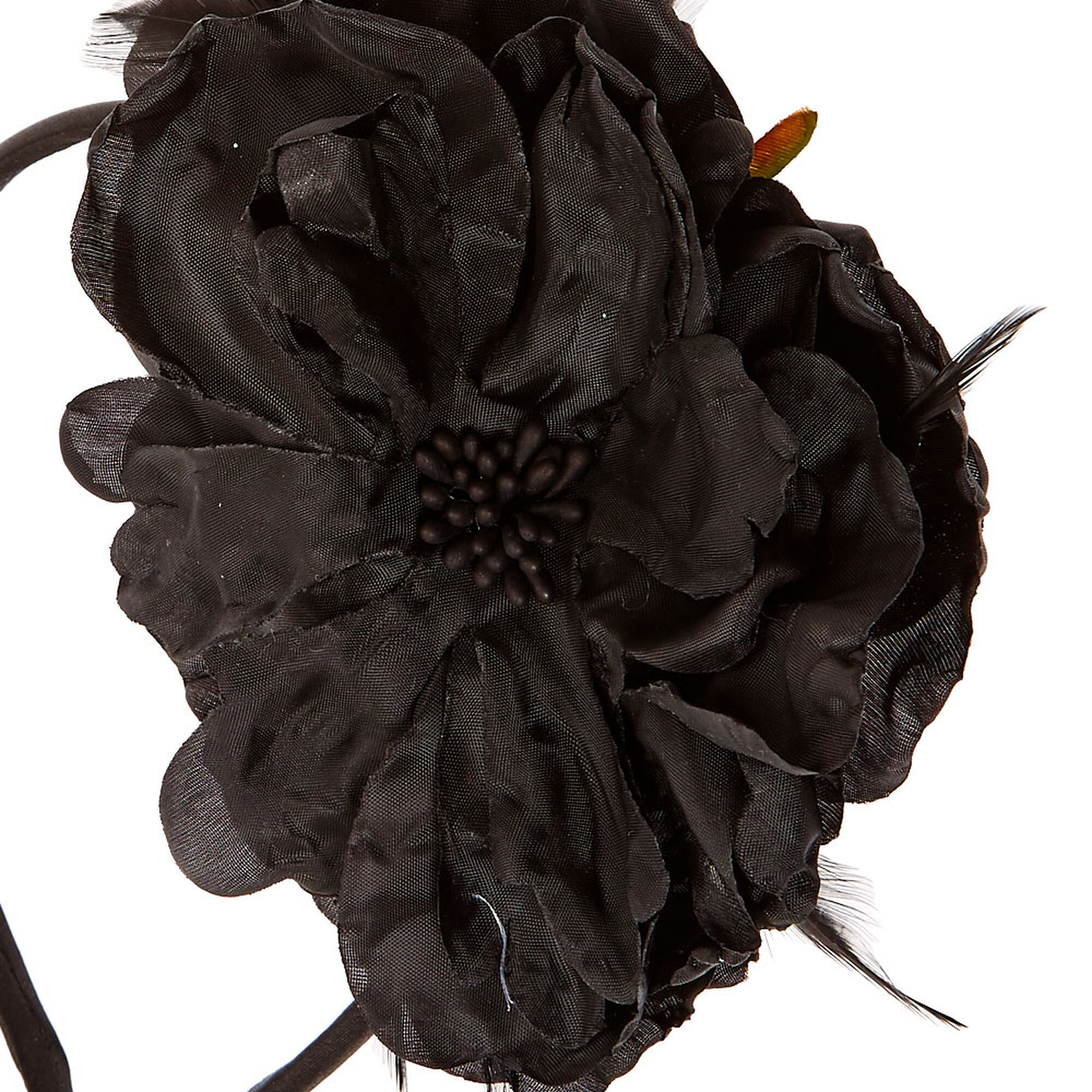 Black hibiscus flower headband claires us black hibiscus flower headband izmirmasajfo