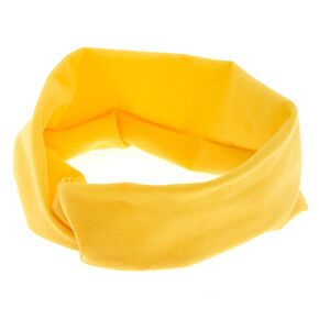 Twisted Headwrap - Yellow,